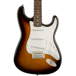 Squier Affinity Stratocaster – Laurel Fretboard – Brown Sunburst