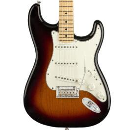 Fender Player Series Stratocaster®- Maple Fretboard – 3 Tone Sunburst