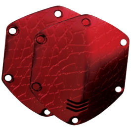 V-Moda OVER EAR KIT SHIELD CROC RED