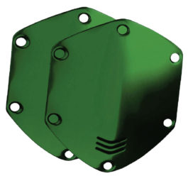 V-Moda OVER EAR KIT SHIELD HAWK GREEN