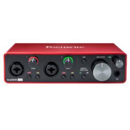 Focusrite Scarlett 2I2 Audio interface 3rd Gen