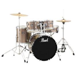 Pearl ROADSHOW 5-Piece Drum kit Bronze Metallic