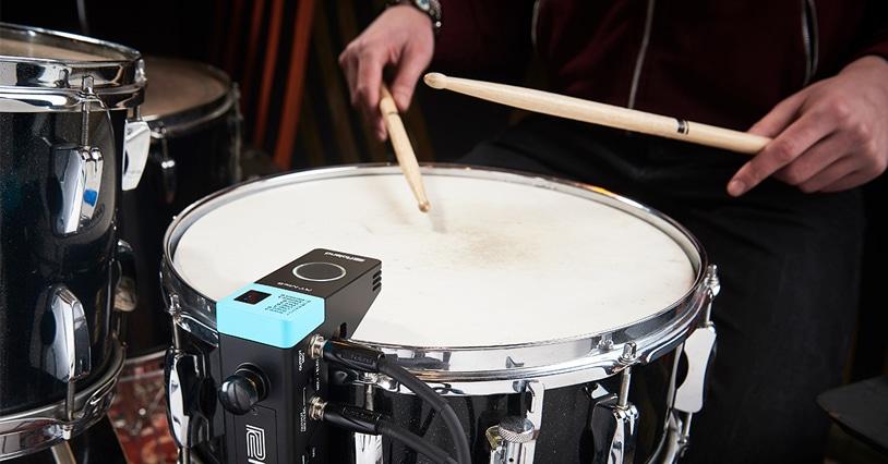 Roland RT Drum Triggers: Hybrid Drumming Simplified | Paul
