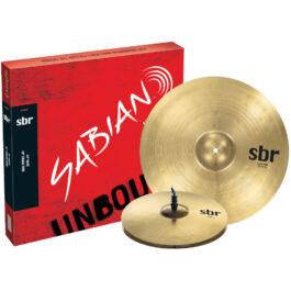 "Sabian Cymbal Pack – SBR 2-Pack – 14"" Hi-Hats & 18"" Crash Ride"