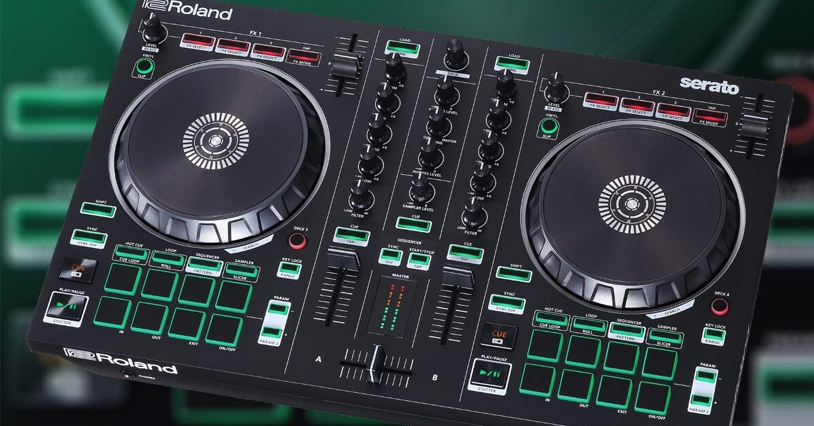 Roland X Serato – DJ Control at your fingertips