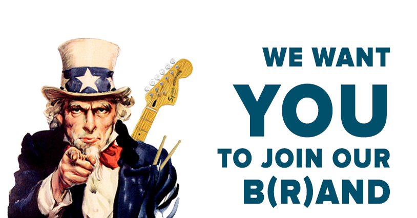 We Want You to Join Our B(r)and