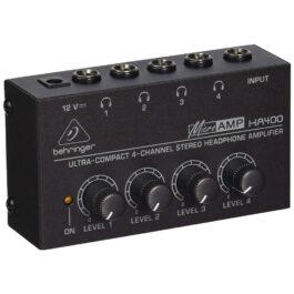 Behringer HA400 4-Channel Headphone Amp