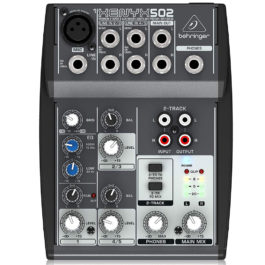 Behringer Xenyx 502 5-Channel Mixer