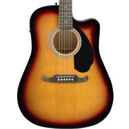 Fender FA-125CE FA Series Dreadnought Acoustic Electric Guitar Sunburst