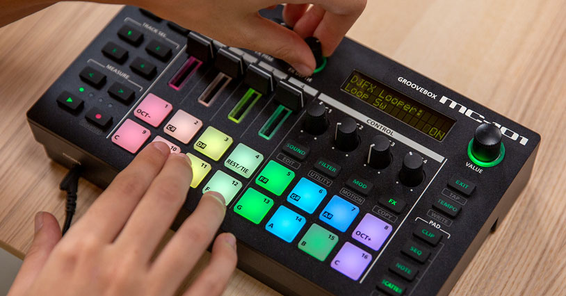 Roland MC Groovebox Series with Two New Models