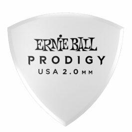 Ernie Ball PRODIGY Premium Guitar Plectrum – 2.0mm – Large Shield (each)