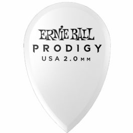Ernie Ball PRODIGY Premium Guitar Plectrum 2.0mm – Teardrop (each)