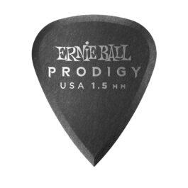 Ernie Ball Prodigy Guitar PIck – 1.5mm – Black Standard Shape (each)