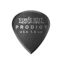 Ernie Ball Prodigy Guitar Pick – 1.5mm – Black Mini Shape (each)