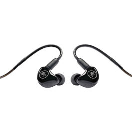 Mackie  MP-120 BTA Single Dynamic Driver Professional In-Ear Monitors with BluetoothAdapter