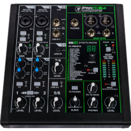 Mackie ProFX6 V3 6-Channel Compact Mixer with FX