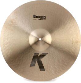 Zildjian K0912 20″ Cymbal K Thin Dark Crash
