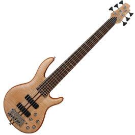 Cort A6 PLUS FMMH Artisan Series 6-String Bass Guitar – Open Pore Finish