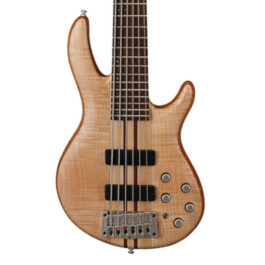 Cort A6 PLUS FMMH Artisan Series 6-String Bass Guitar – Open Pore Finish