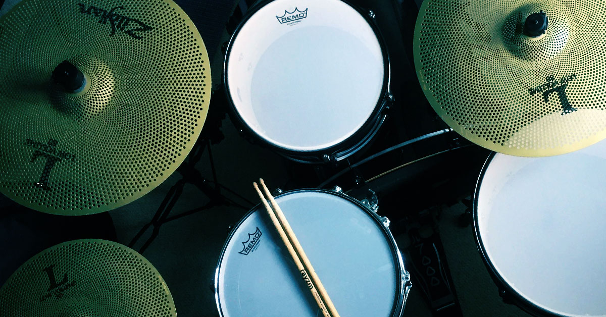 Need a Low-Volume Drum Practice Solution?