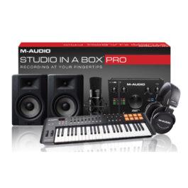 M-Audio STUDIO IN A BOX PRO – Your Complete Studio Bundle