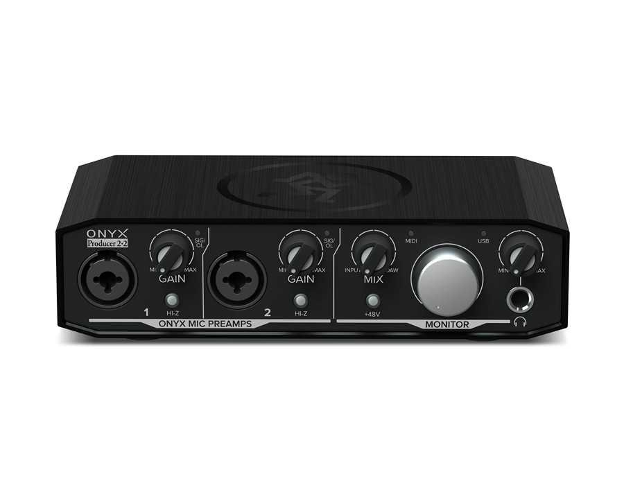 Onyx Producer 2•2 Interface