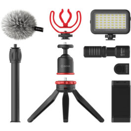 BOYA BY-VG350 Ultimate Smartphone Video Kit with Shotgun Microphone
