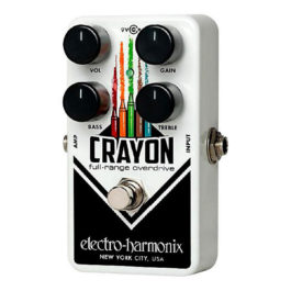 Electro-Harmonix CRAYON '69 Full-Range Overdrive Effects Pedal
