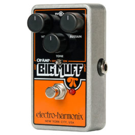 Electro-Harmonix OP-AMP BIG MUFF Distortion/Sustainer Effects Pedal with Op-Amps