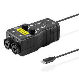 SARAMONIC SmartRig+ UC Dual Channel USB Audio Interface