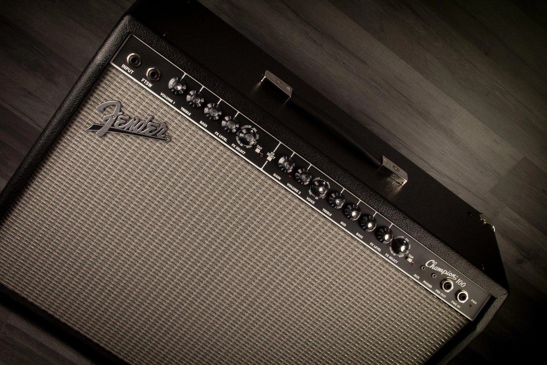 Fender Champion Amplifiers – Serious Power On A Budget