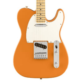 Fender Player Series Telecaster® – Maple Fretboard – Capri Orange
