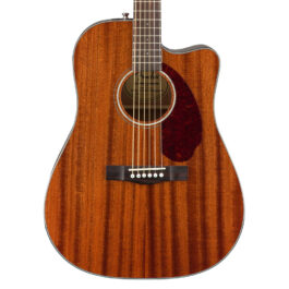 Fender CD-140SCE – Dreadnought – All-Mahogany Acoustic/Electric Guitar with Case