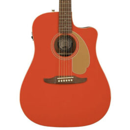Fender California Series Redondo Player Limited Edition in Fiesta Red