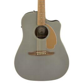 Fender Redondo Player Acoustic-Electric Guitar – Slate Satin