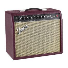 Fender Super Champ X2 Limited Edition 15 Watt 1×10 Inch Valve Guitar Amplifier – Wine Red