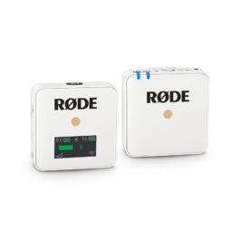 Rode WIRELESS GO Compact Wireless Microphone System – White