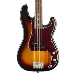Squier Classic Vibe 60's Precision Bass – Laurel Fretboard – 3 Tone Sunburst