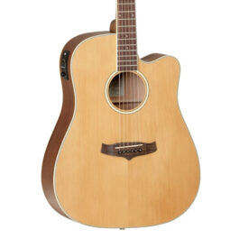 Tanglewood TW10 Acoustic/Electric Guitar – Natural