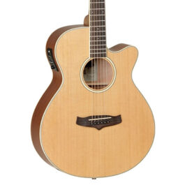 Tanglewood TW9 Winterleaf Acoustic/Electric Guitar – Natural