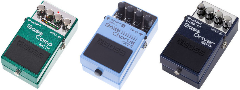 Bass Compact Pedals