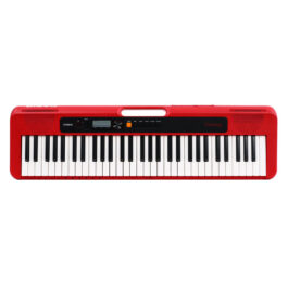 Casio CT-S200 Casiotone 61-Key Portable Keyboard – Red