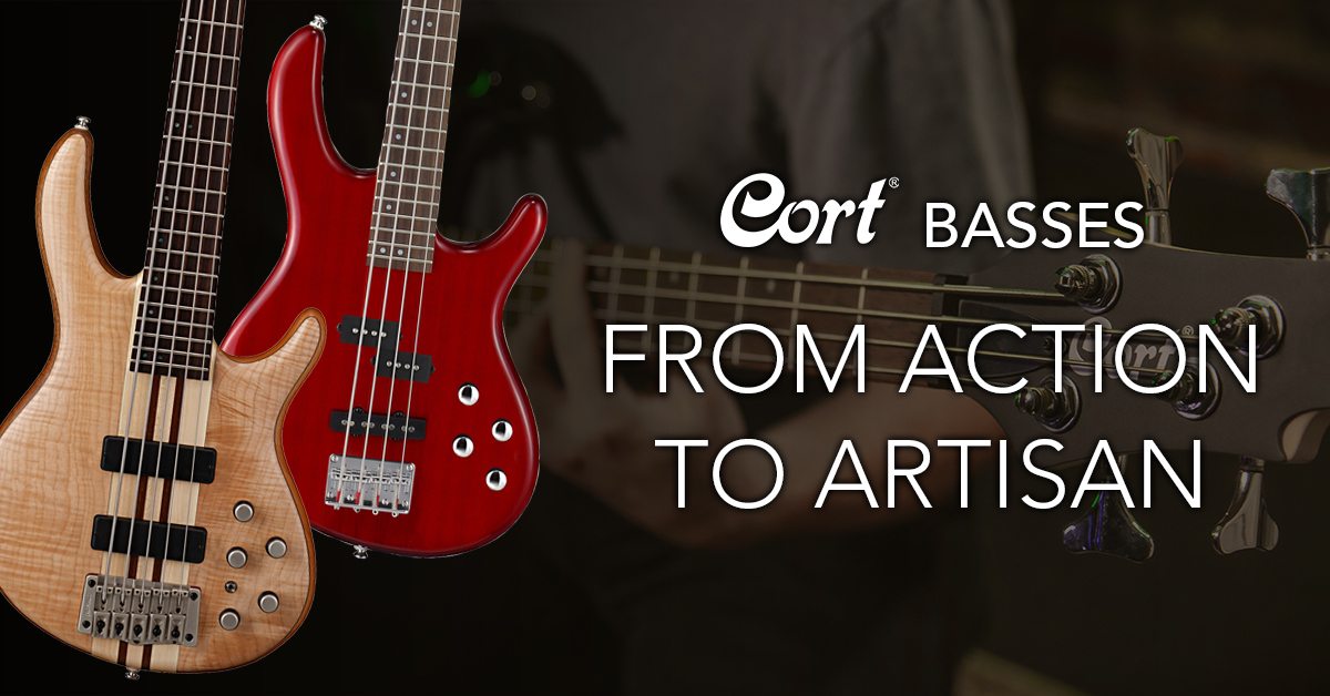 Cort Bass Guitars – from Action to Artisan