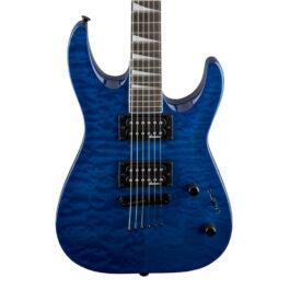 Jackson Dinky Arch Top JS32TQ DKA Electric Guitar – Transparent Blue