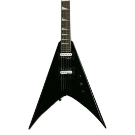 Jackson JS32T King V – See Thru Gloss Black – Amaranth Fretboard