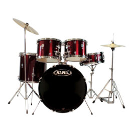Mapex Prodigy 5-Piece custom drumkit – Including Throne and Cymbals