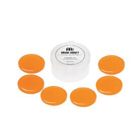 Meinl MDH – Drum Honey – 6-Piece Gel Damper Pads with Case