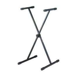 Quik-Lok Single Brace X-Frame Keyboard Stand