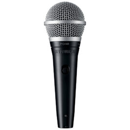 Shure PGA48 – Handheld Cardioid Dynamic Vocal Microphone with 15 foot XLR Cable
