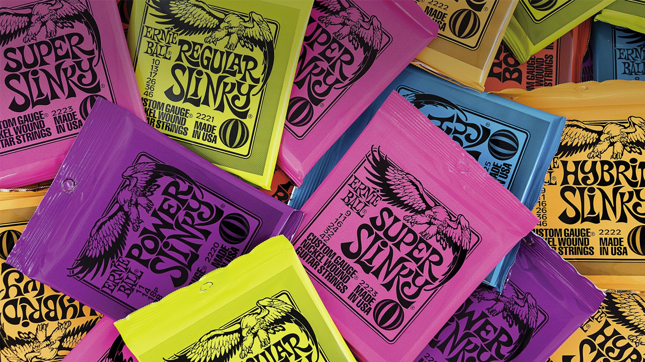 The Iconic Ernie Ball Slinky's